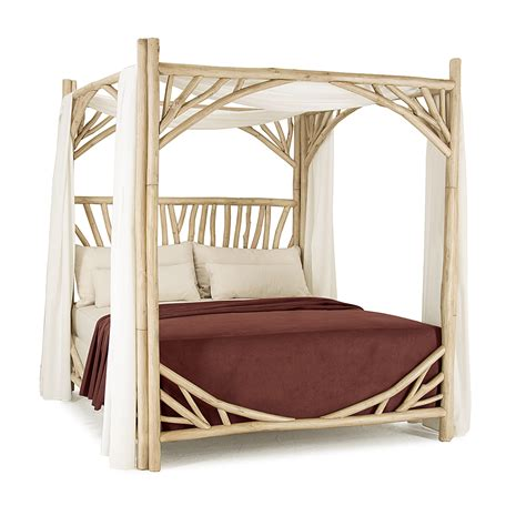 Furniture Canopy Bed by Rustic Canopy Bed La Lune Collection