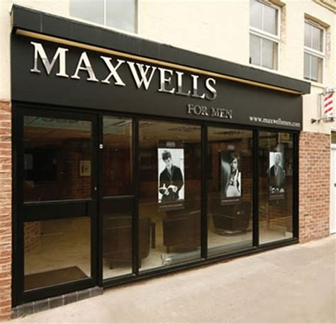 signs express bedford maxwells hairdressing bedford