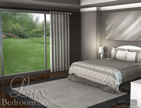 scene bedroom luxury bedroom scene
