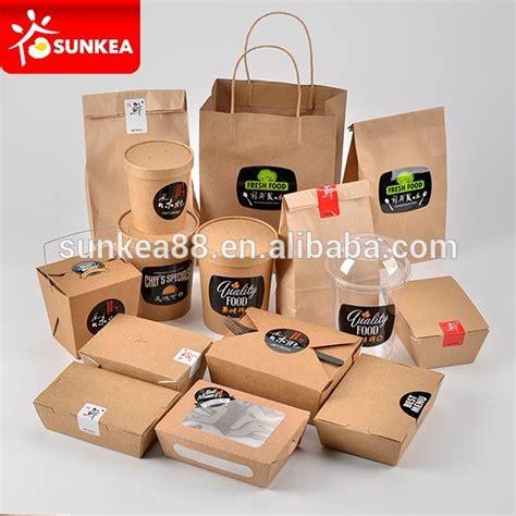 Take Away Box Bag From Os by Para Llevar Desechables Logotipo Personalizado Impreso