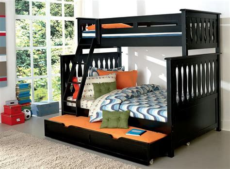 wooden bunk beds with futon bottom bunk bed with futon on bottom incredible futon full size