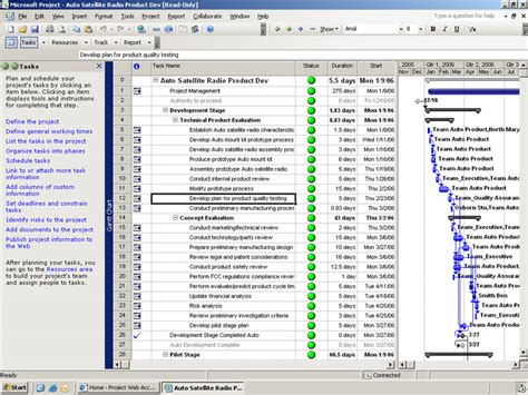 Microsoft Project Templates 2007 by Microsoft Project Professional 2007 1 Client Version