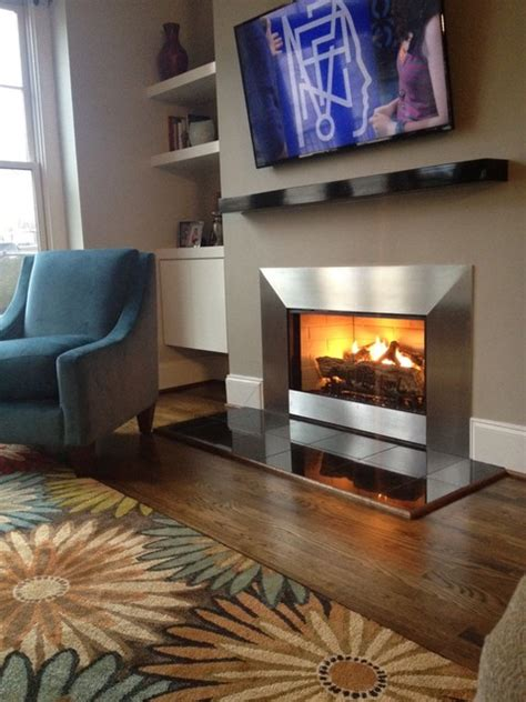 atlanta fireplace specialists mucha fireplace makeover contemporary living room