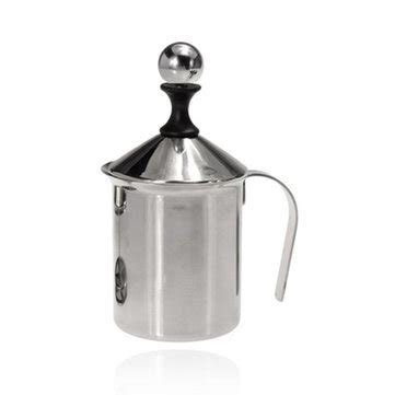 400ml 800ml stainless steel double mesh milk frother milk stainless steel pump milk frother creamer foam cappuccino
