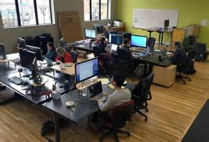 office improving on the open office environment with slack