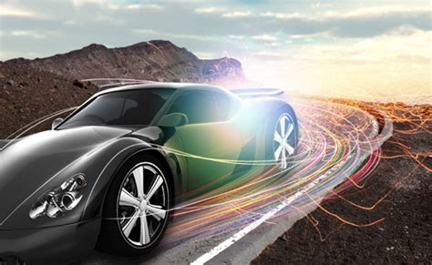 Car Photoshop Effects create a speeding car with light effects in