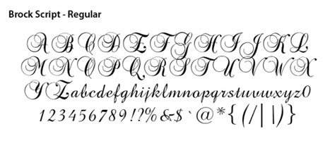 Wedding Font Brock Script by Nannette S You Are See Our Graphic Collection Of