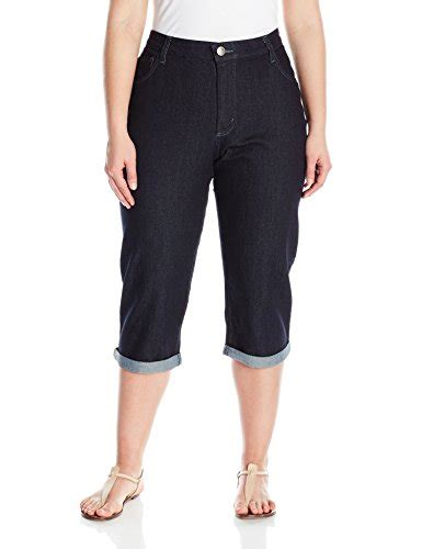 lee plus size comfort waist jeans riders by lee indigo women s plus size comfort waist cuff