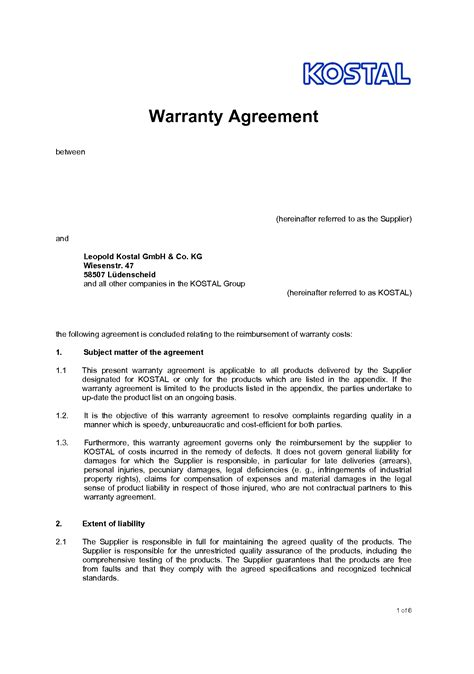 Agreement Letter Between Two Companies Sle Interesting Agreement Format Sle Between Two With Subject Matter And Extent Of