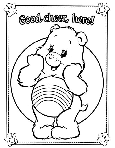 wonderheart bear coloring pages 811 best care bears cousins images on pinterest care