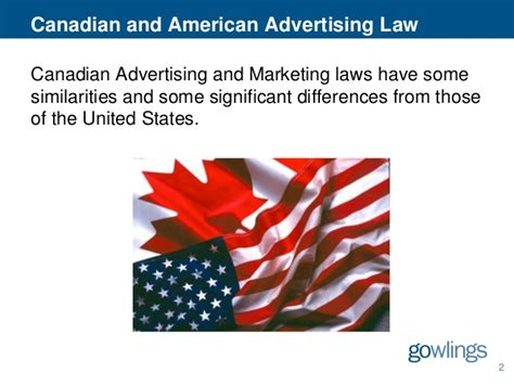Canadian Sweepstakes Law - the differences between canada and the u s in advertising promotion