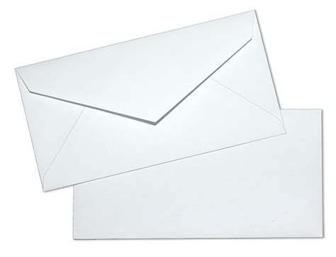 monarch 24lb white wove regular commercial envelopes