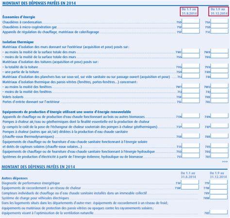 Formulaire Credit Impot 2014 Remplir Sa Feuille De D 233 Claration De Revenus Pour Le Cr 233 Dit D Imp 244 T