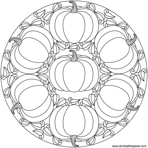 mandala halloween coloring only coloring pages