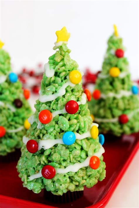 crispy christmas tree best quick healthy fun food