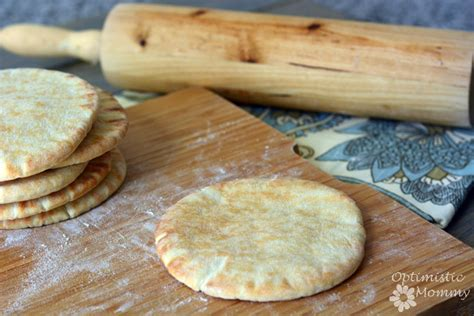 Handmade Pita - pita bread recipe optimistic