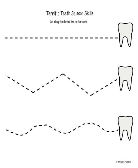Dental Worksheets For by 33 Best Images About Dental Health Theme On