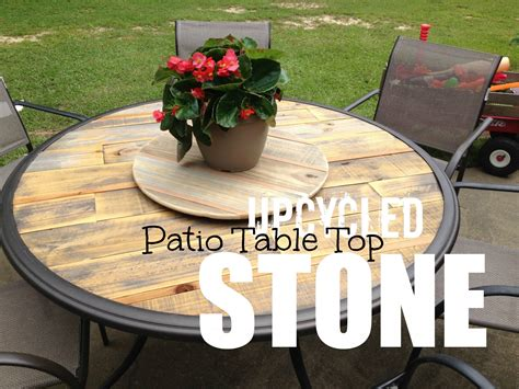 outdoor table top ideas wood patio table top upcycled