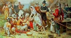 pilgrims and thanksgiving share this 187 first thanksgiving
