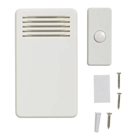 Bell Door 75 db wireless battery operated door bell kit with 1 push