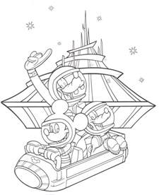 disney coloring az coloring pages