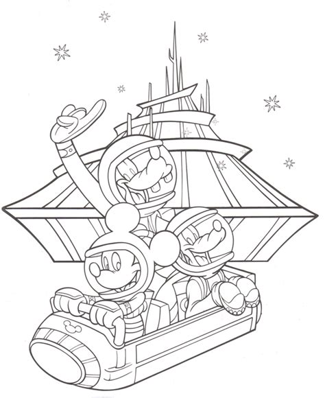 disney world coloring pages az coloring pages