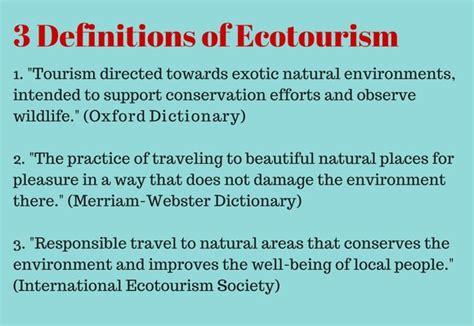 the benefits of ecotourism - How To Make Money Online Com