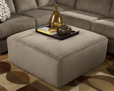 the upholstery place jessa place dune oversized accent ottoman from ashley