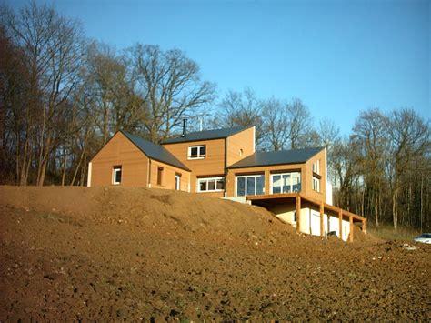Maison Ossature Bois Nord 2495 by Maison Ossature Bois Nord Construction Bois Nord Pas De
