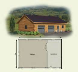 Cabin Plans With Garage Cabin Garage Plans Over 5000 House Plans