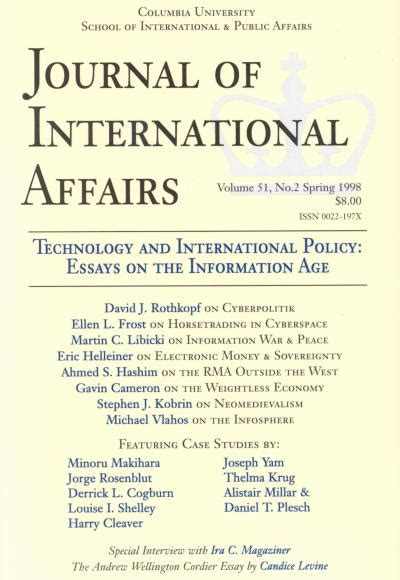 Information Age Essay by Technology And International Policy Essays On The Information Age Jia Sipa