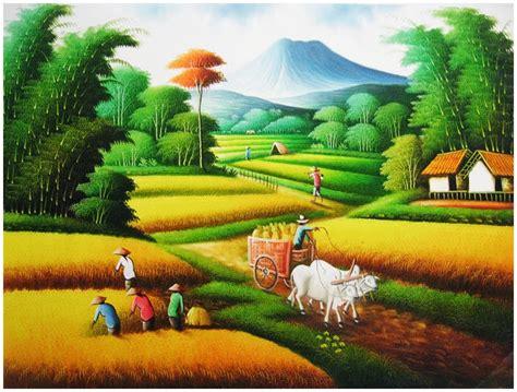 Harga Bibit Collagen La Tulipe lukisan pertanian