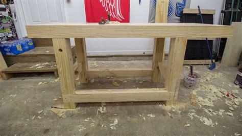 build  woodworking workbench jays custom creations