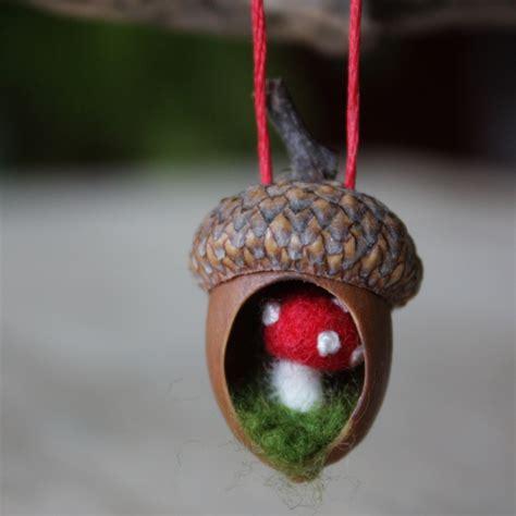 lil fish studios acorn ornaments and crafting with squirrels - Acorn Ornaments