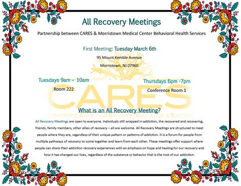 Morris County Detox by Cares Morris County Center For Addiction Recovery