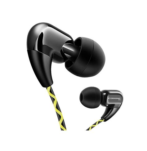 3 5 Mm In Ear Headphones cosonic w5 3 5mm in ear sport earphones running headphone