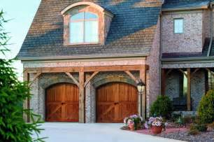 Wood Carriage House Garage Doors Carriage Style Garage Doors