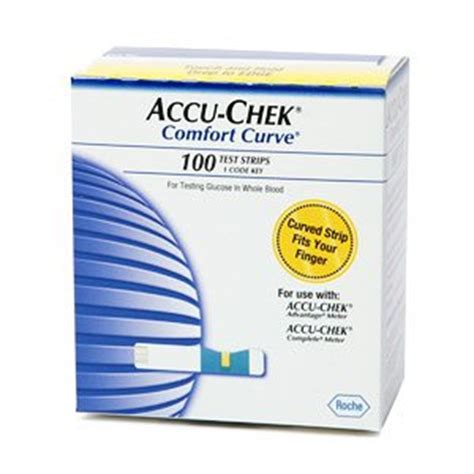 accu chek comfort curve 1x50 mfg by roche diagnostics
