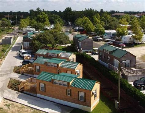 Cabins In Destin Florida by Cing On The Gulf Rv Park Cabins Wedding Venues