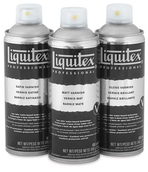 spray paint liquitex liquitex spray varnish blick materials