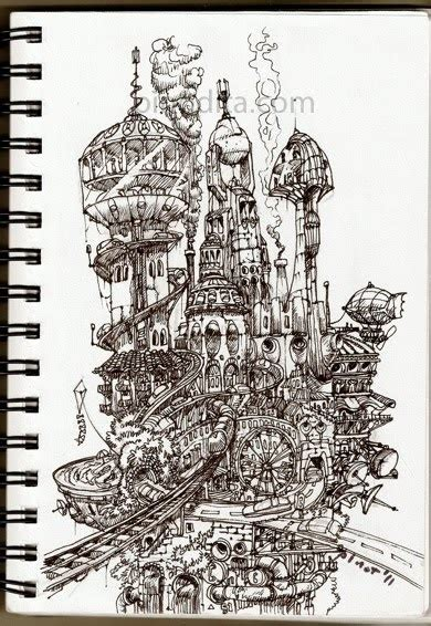 doodle wahyu our artful doodles tower of city