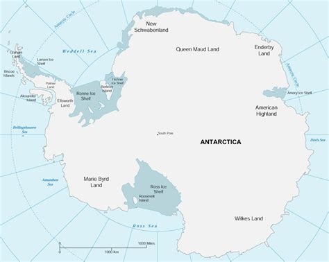 map of antarctica map antarctica