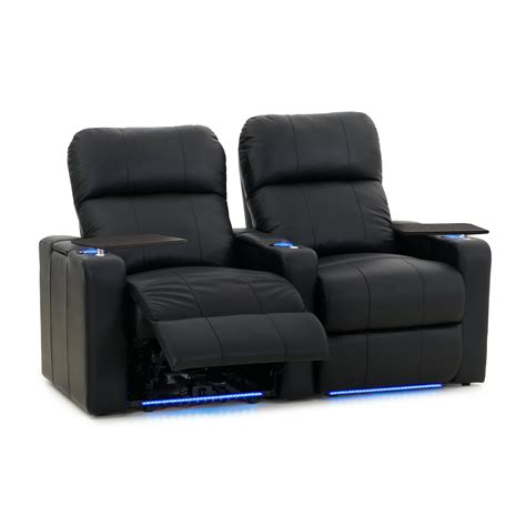 octaneseating turbo xl home theater recliner row