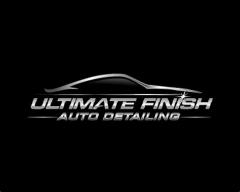 Auto Detailing Logo Ideas by Ultimate Finish Auto Detailing