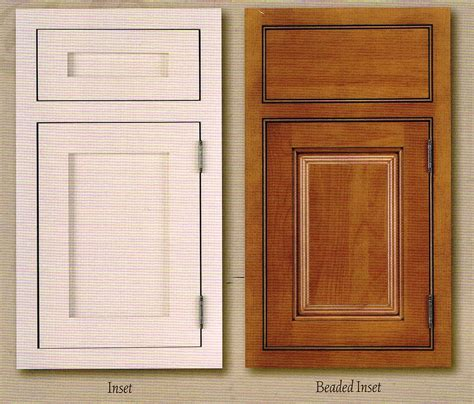 cabinetry with inset drawers and doors cabinet doors