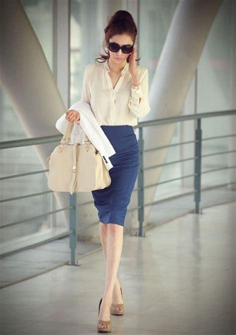 24 gorgeous and girlish pencil skirt for work
