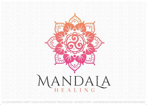 readymade logos for sale mandala healing readymade logos