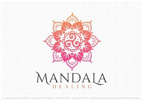 readymade logos for sale mandala healing readymade logos