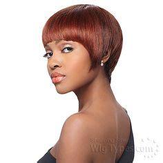 bump short series quick weave hairstyles milky way que human hair blend weave short cut series