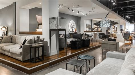 Modern & Contemporary Furniture Store Interior Design In Calgary